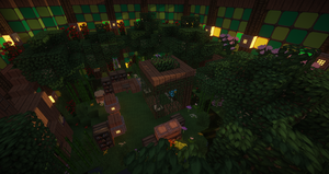 Minecraft 4 Leafys Bedroom by Nightforest