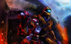 Halo: Agaist everything by BID-41