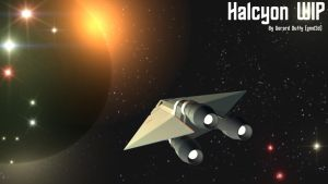 Halcyon1 WIP by gmd3d