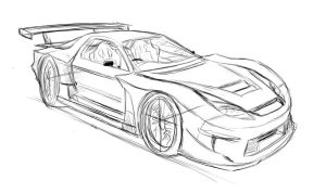 RX7 2010-2012 concept sketch1 by wingsofwar