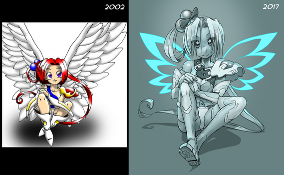 Improvement from 2002 to 2017 by DeviantMG