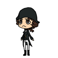 Chibi Horatio Hornblower by Guardy