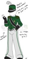 TMNT-U Band Uniform Colored by nichan