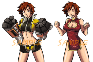 Punch Sprite Samples by a-bad-idea