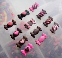 CUTE 2D CANDY WRAP DESIGNS by jadelushdesigns