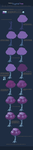 Pixeling a Crystal Tree by K-hos