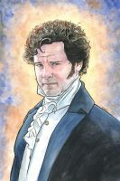 Colin Firth as Mr. Darcy from Pride and Prejudice by ssava