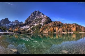 Mountainous Refelection by stetre76