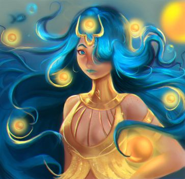 Sea Goddess by Castonia