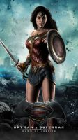 WONDER WOMAN (Batman v Superman: Dawn of Justice) by JPGraphic