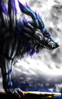 Blue Beast Garurumon by VorpalBeast