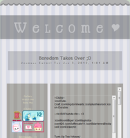 Welcome Journal Skin by 6oo
