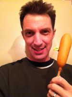 Corndog with a Beak by caostrout