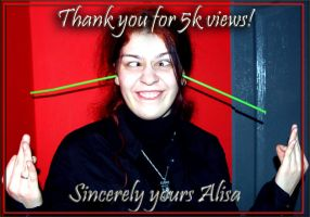 Thank you all for 5k views by Sirennia