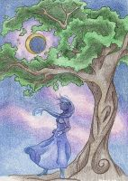 Magic by Moonlight by Spiralpathdesigns