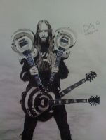 Zakk Wylde by bellamyribeiro