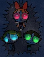 PPG: Of The Stars -coloring- by AlicornMoonstar