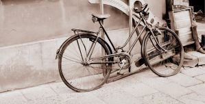 old bike by PKphotos