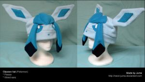 Glaceon hat 3 by Neon-Juma