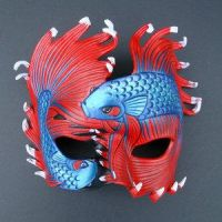 'Fighting Betta' by Mask-Making-Artisans