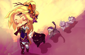 CM: Kitty Parade by BloodnSpice