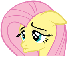 Sad Fluttershy - Vector by TheSharp0ne