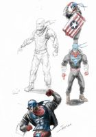 Captain America concept by MonsieurBaron