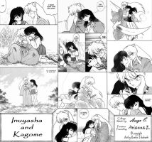 Inuyasha and Kagome - Moments by hyperteenager