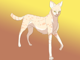 Request: Serval by Whitelupine