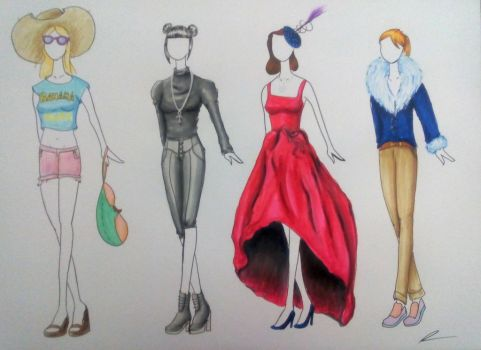 Miscelaneous outfits by Whitecinnamon252