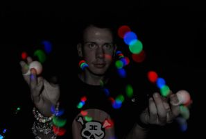 Raver Lights by BioVenomImagery