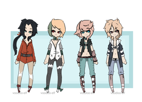 Male adopts set -Taken- by Voodoo-Elf