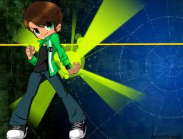 Ben 10: Bleedman Style by RandomDraggon