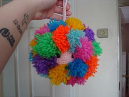 Crazy Pom Pom Dude by EssHaych