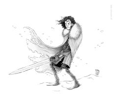 Game of Thrones - Jon Snow by Ripplen