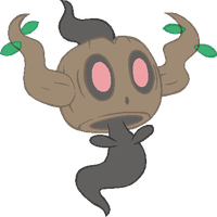 ~PokeBase~ Phantump by YukiMemories