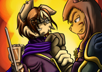 Aryn vs Gaius by Knuckles-933743