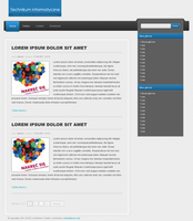 2nd blog layout by Idered