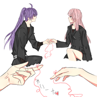 Gakupo and luka by Uzimikii-Hiruu