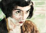 Amelie Poulain Watercolour 2 by StefanRess