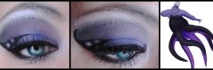 Disney Make-Up - Ursula by MaleneSolheim