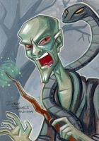 Lord Voldemort by danidraws