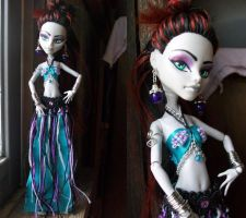 Monster high belly dance commission wip by AdeCiroDesigns