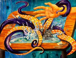 Attack of the Octopus Thing by Lucky978