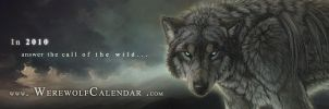 Werewolf Calendar Bookmark by balaa