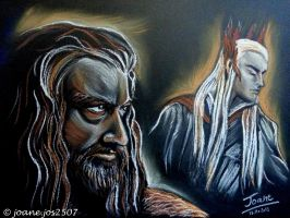 Thorin Thranduil, he never forgave he never forgot by jos2507