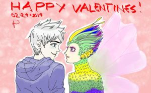 JackxTooth Valentines by Lawrielle21