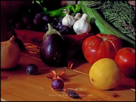 Fruits and vegetables by turkill