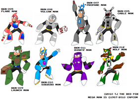 MMEN - Old Robot Master Art by ZarelTheWindDragon