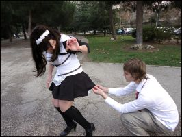 You are a pervert, Usui by Thara-Wood